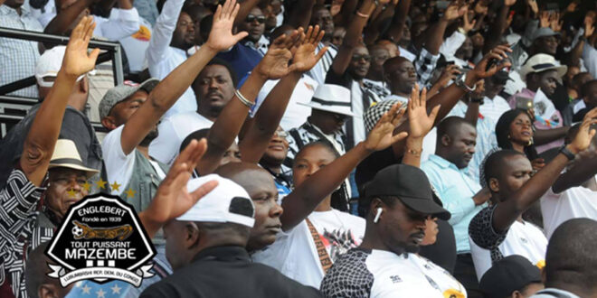 Les supporters de TP Mazembe - Photo @TBadiangwenas